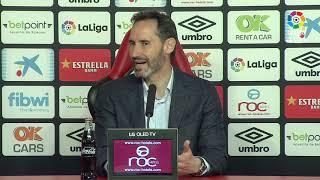 Rueda de prensa de Vicente Moreno tras el RCD Mallorca vs CD Lugo (3-0)