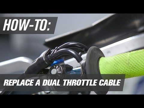 How To Replace a 4 Stroke Throttle Cable