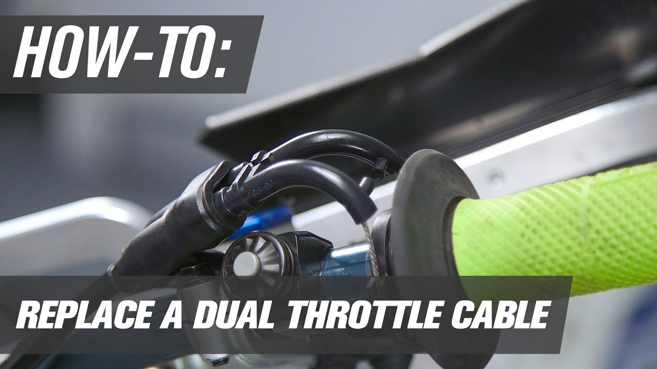 hight resolution of how to replace a 4 stroke throttle cable