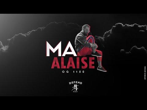 OG1150 - MAL ALAISE  (Officiel Audio) #1150Mentality