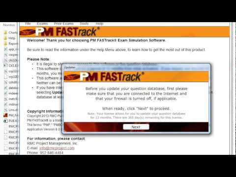 Pm Fastrack Pmp Exam Simulation Software V8