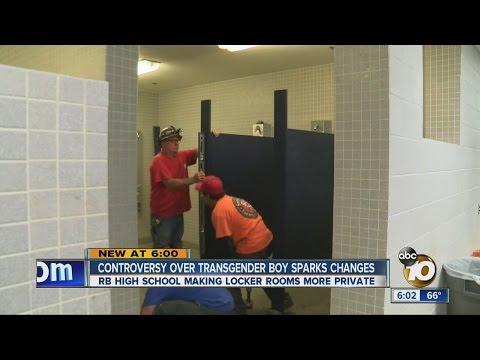Controversy over transgender boy sparks bathroom changes