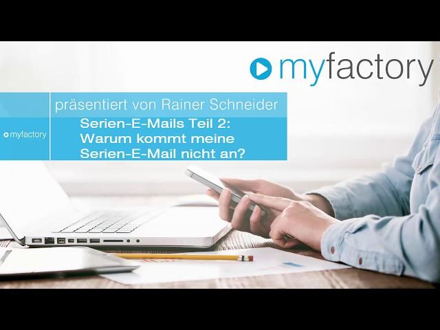 Serien-E-Mails Teil 2: Warum kommt meine Serien-E-Mail nicht an?