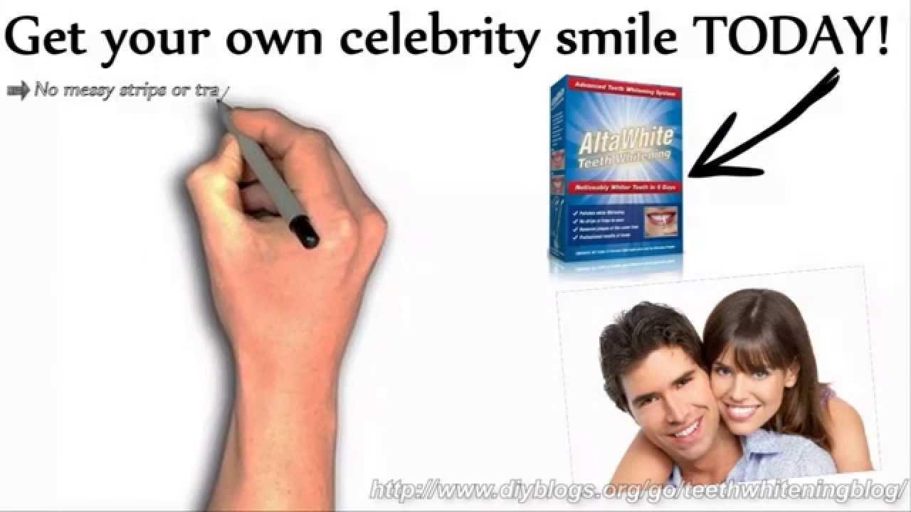 Alta White Teeth Whitening Whiten Your Yellow Teeth At Home