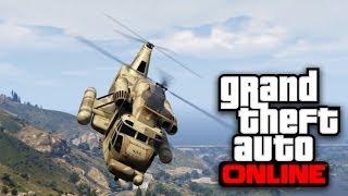 WILLY QUE HELICOPTERO TAN GUAPO!! JAJAJA GTA V ONLINE - [LuzuGames]