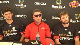 2015 Sun Belt Conference Baseball Championship: UL Lafayette Championship Game Press Conference