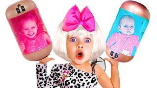 Maya vestir-se & LOL bonecos surpresa