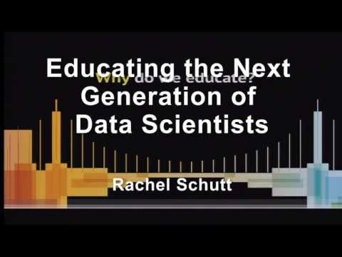Educating the Next Generation of Data Scientists - DataEDGE 2013