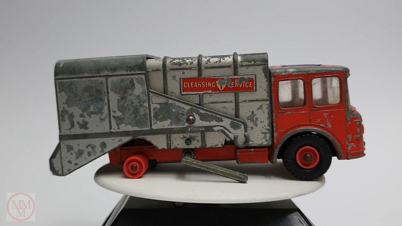MATCHBOX Restoration No.K7 Refuse Truck 1967