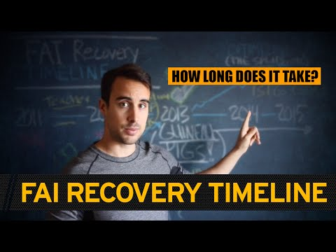 MY HIP RECOVERY TIMELINE: (how long does it take to recover from FAI?)