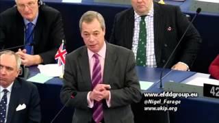 EU faces existential crisis as democracy becomes contagious - UKIP Leader Nigel Farage