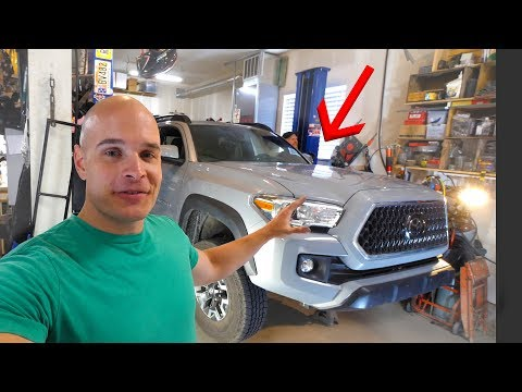 TACOMA TEARDOWN - Lifting my new truck!!