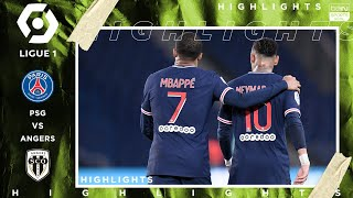 PSG 6  1 Angers  HIGHLIGHTS & GOALS  (10/2/2020)