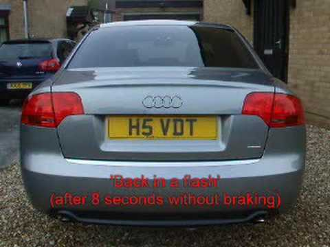 audi a4 flashing brake light youtube. Black Bedroom Furniture Sets. Home Design Ideas