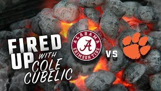 Cole Cubelic gets fired up about Alabama vs. Clemson in the College Football Playoffs