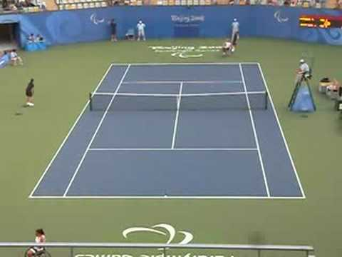 Wheelchair Tennis: Esther Vergeer vs. Jiske Griffioen
