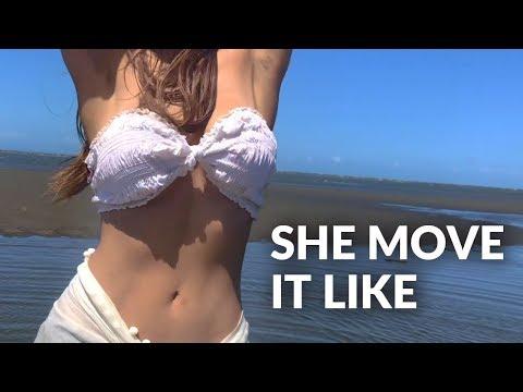She Move It Like Dance On The Beach |  Badshah