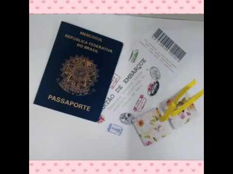 Convite Estilo Passaporte Youtube