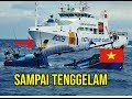 VIETNAM MAKIN KURANG AJAR, Kapal Pengawas Vietnam Tabrak Kapal TNI Indonesia