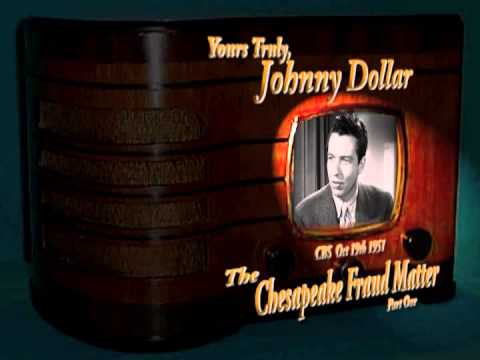 "Yours Truly, Johnny Dollar ""The Chesapeake Fraud Matter"" Part 1/3 Stereo Oldtime Radio Crime Drama"