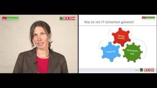 IT Sicherheit (1) Was versteht man unter IT Sicherheit und wer ist betroffen? WKO WIFI InfoKompakt