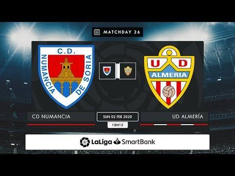 CD Numancia - UD Almería MD26 D1815