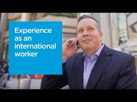 International worker - Shea shares his experience