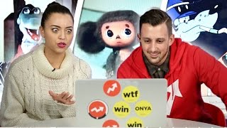 "Americans Watch Russian Cartoons For The First Time(He would be cute in the daytime and really freaky at night."" Check out more awesome videos at BuzzFeedVideo! http://bit.ly/YTbuzzfeedvideo MUSIC Russian ..., 2016-01-24T20:00:00.000Z)"