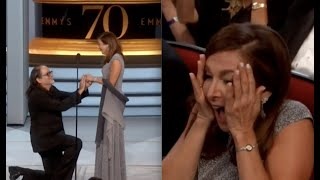 70th Emmy Awards 2018 | Glenn Weiss and Jan Svendsen Proposal She Said YES!!
