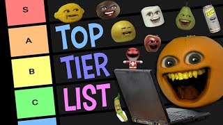 Annoying Orange Character Tier List (AO rates his friends!)