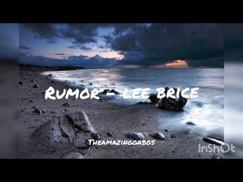 Rumor - Lee Brice Sub Español