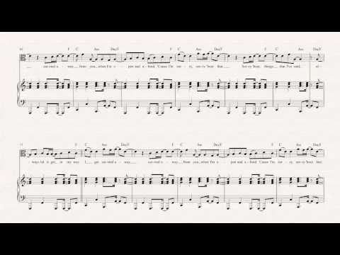 Viola  - Carried Away - Passion Pit -  Sheet Music, Chords, & Vocals