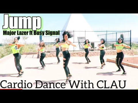 Major Lazer  Jump feat Busy Signal  Cardio Dance With Clau