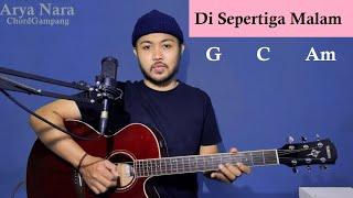 Chord Gampang (Di Sepertiga Malam -Rey Mbayang) Arya Nara (Tutorial Gitar) Pemula