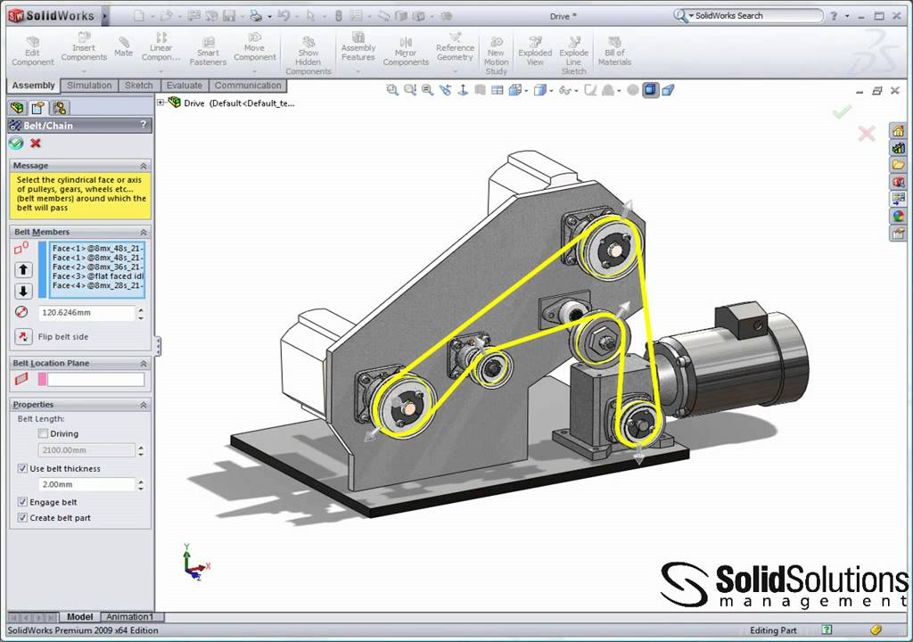 3d Modeling Wallpaper Solidworks Belts And Chains In Solidworks Youtube
