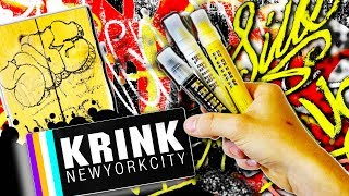 KRINK K-80 Solid Paint Marker Review and Surface Test