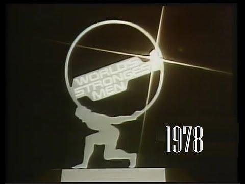 World strongest man 1978.