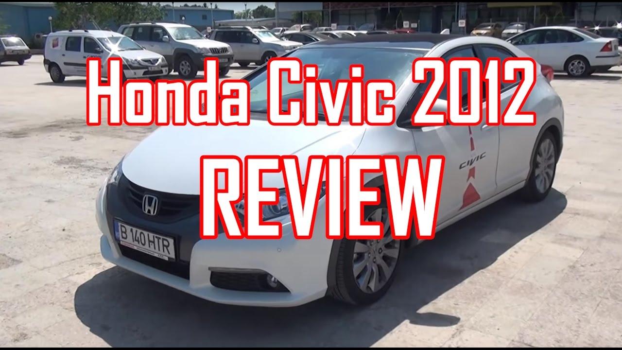 REVIEW- Honda Civic 2012 (www.buhnici.ro)