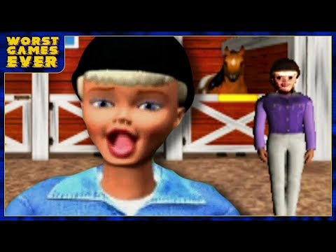 Worst Games Ever - Barbie Race And Ride