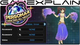 Persona 4: Dancing All Night - All Costumes