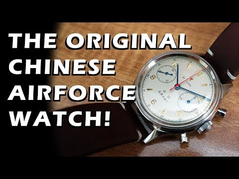 Seagull 1963 Reissue Review - The Original Chinese Airforce Chronograph! - Perth WAtch #83