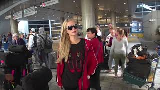 Paris Hilton Weighs In On A Kim Kardashian Presidency Upon Arrival In L.A.