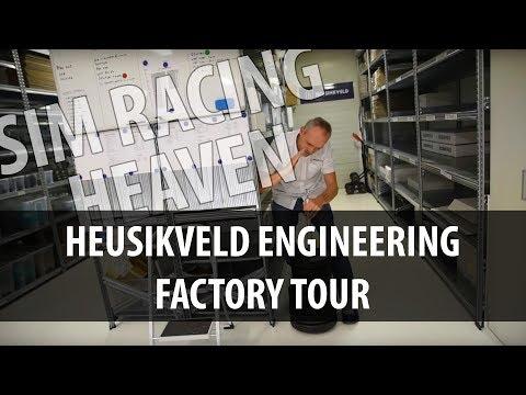 Heusinkveld Engineering factory tour & ultimate simulator impressions