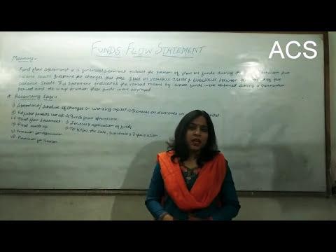 Funds flow statement by Prof Akriti Singh.