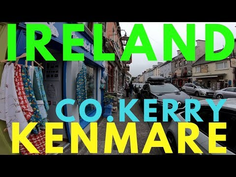 Kenmare Town Co.Kerry The Ring Of Kerry With Views Kenmare Bay Ireland Travel VLOG
