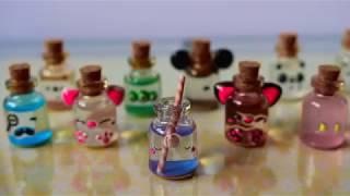 Miniature Shaker Glitter Bottles Compilation & Tutorial | Ahhmey Creations