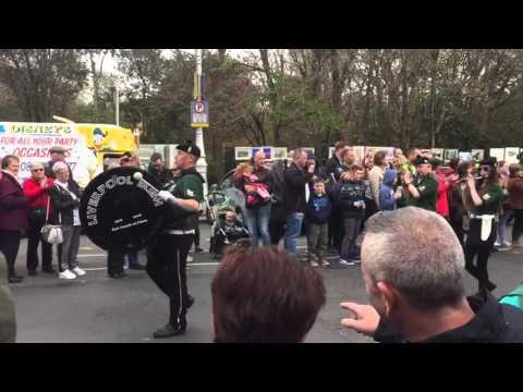 Palestinians in Ireland celebrate the Irish Revolution