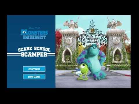 Disney Pixar Monsters Inc University Halloween Episode 1 Fun Baby Fun Fun