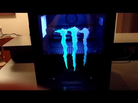 Monster Energy Drink Mini Fridge Cooler Refrigerator G-Style1