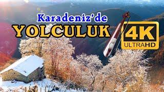 4K Yolculuk Videosu ve Yol havaları (Karadeniz -Trabzon-Dernekpazarı - Çikoşo) 4K Nature Relax Video